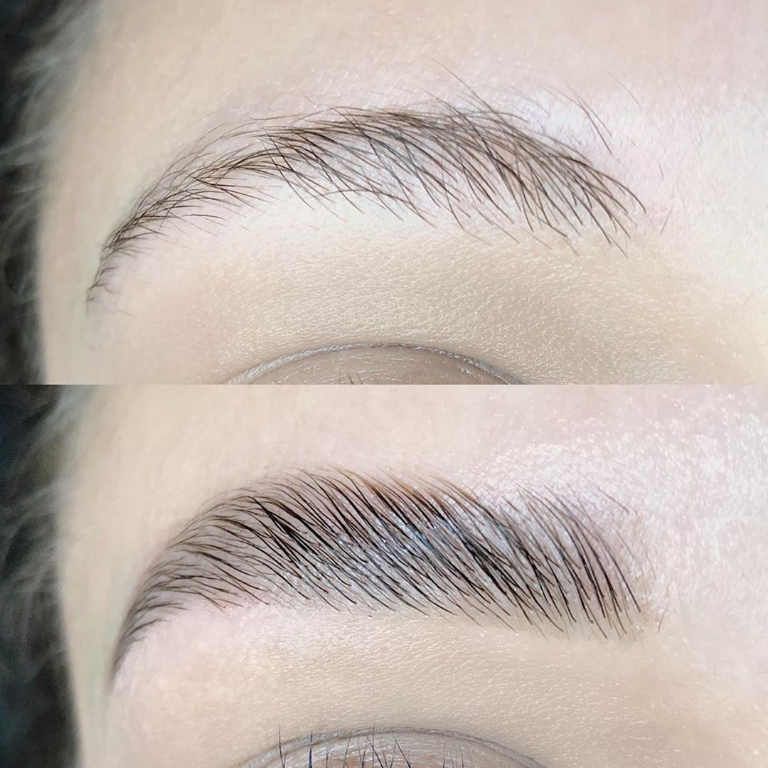 Eyebrow Lamination