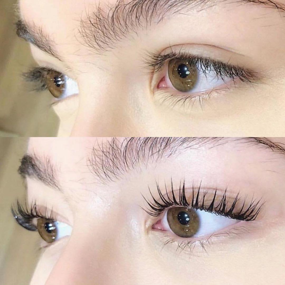 lash extensions treatment