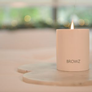 BROWZ SIGNATURE SCENT CANDLE